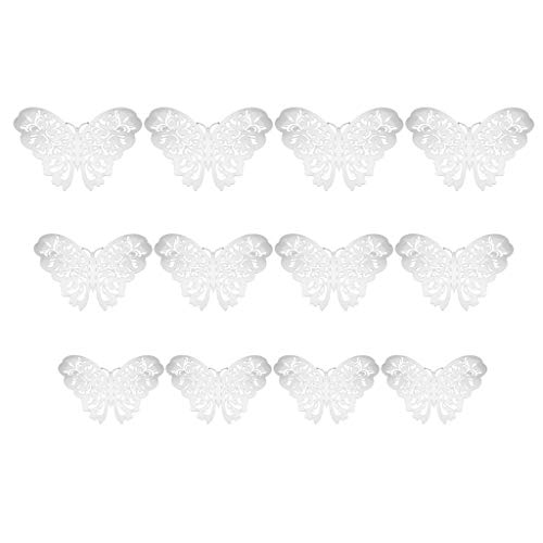 Christmas Decorations Clearance, Baoniu 3D Decal Wall Stickers Butterfly, Home Room Party Wall Decor, More Gorgeous in Your Christmas Eve (12pcs) (A, SL)
