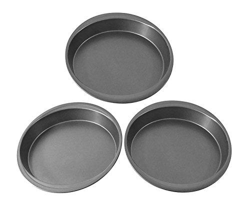 Mainstays 9 Inch Round Cake Pan, 3 Pack