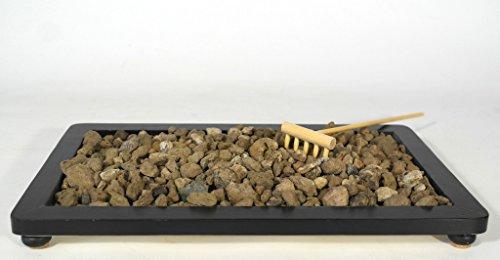 Piedra pómez, grano 7/12 mm. suelo de bonsai - bolsa de 10 litros