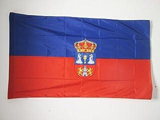 AZ FLAG Bandera de Galicia ESTRELEIRA 150x90cm NACIONALISMO Gallego 90 x 150 cm Bandera INDEPENDENTISTA GALLEGA