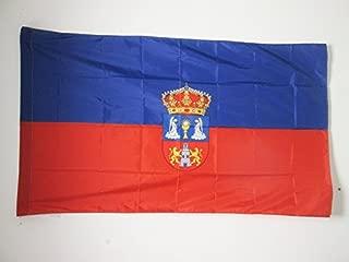 AZ FLAG Bandera de la Provincia DE LUGO 150x90cm para Palo - Bandera LUGO ENGalicia 90 x 150 cm