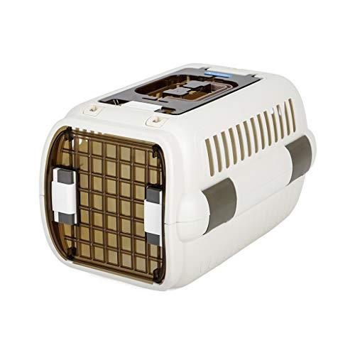Cages JXLBB Boîte Blanche de Chat boîte à air pour Animaux de Compagnie Boîte à Chiens pour Chats à air Cat de Voyage Portable Boîte de Consignation de Voiture Portable