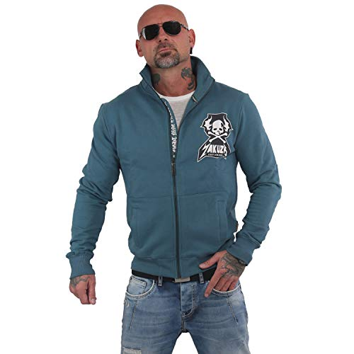 Yakuza Herren Beast Trainingsjacke Zipper