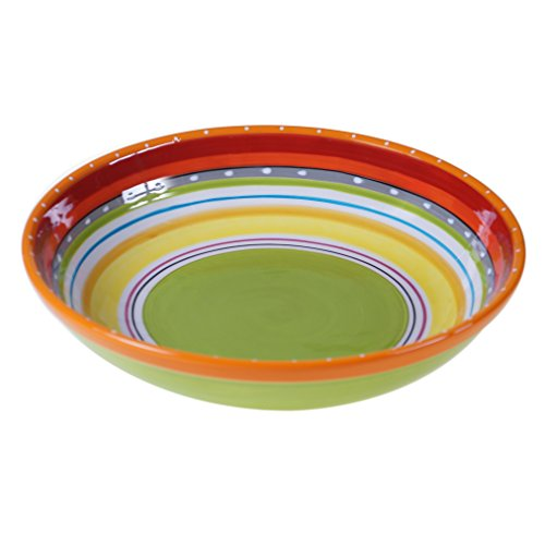 Certified International 25631 Mariachi Serving/Pasta Bowl, 13.25' x 3', Multicolor