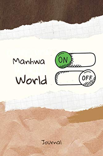 Manhwa On Word Off Journal: Journal or Planner for Manhwa Lo