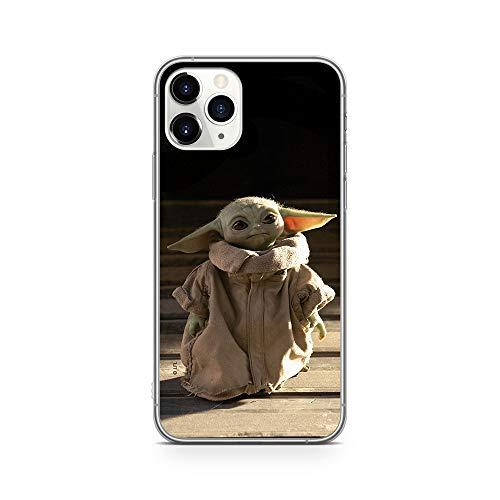 Original & Offiziell lizenziertes Star Wars Baby Yoda Handyhülle für iPhone 11 PRO, Hülle, Hülle, Cover aus Kunststoff TPU-Silikon, schützt vor Stößen & Kratzern