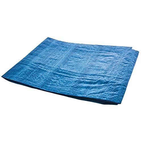 Amtech Multi-Purpose Waterproof Tarpaulin Sheet (6 x 4ft), Blue