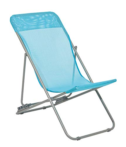 Haberkorn Liegestuhl für Kinder Gartenstuhl Liege Strandliege türkis