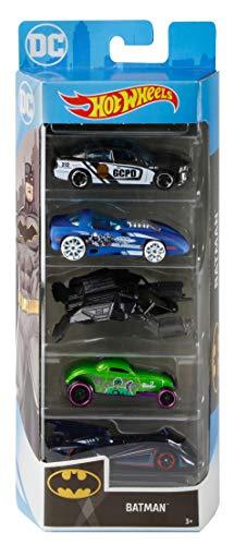Hot Wheels GMY44 Batman 5 Paquete de regalo para coche