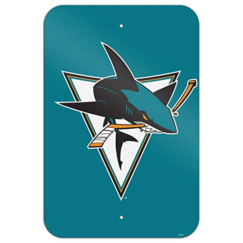 GRAPHICS und MORE NHL San Jose Sharks Logo Home Business Office Schild