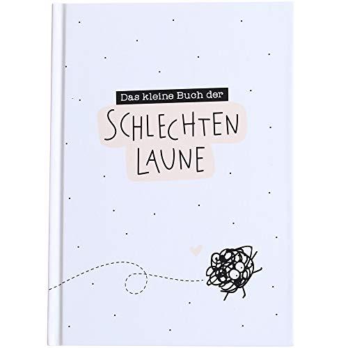Odernichtoderdoch Notizbuch | Das kleine Buch der schlechten Laune | weiß - Hardcover - 112 Seiten