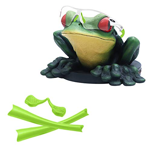 Acefrog Replacement Rubber Kits for Oakley Radar Path/Radar Pitch/Radar Range/Radar Edge Sunglasses - Green