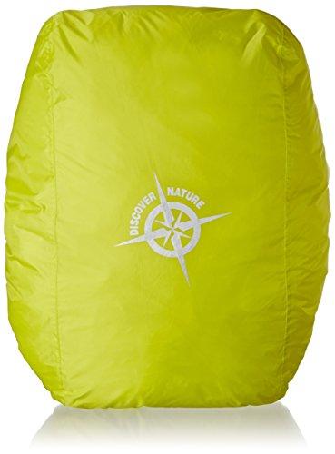 COLUMBUS Funda de Lluvia 45-65l Schlafsack, Gelb Neon, 45-65 Liter
