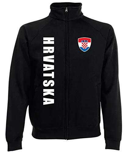 aprom Kroatien Kinder Jacke Zip Sweater SPA SC (116)