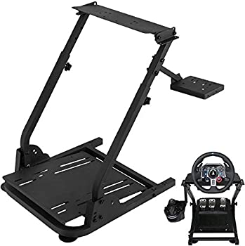 VEVOR G29 Racing Steering Wheel Stand G920 Racing Wheel Stand fit for Logitech G27/G25/G29 Gaming Wheel Stand Wheel Pedals NOT Included