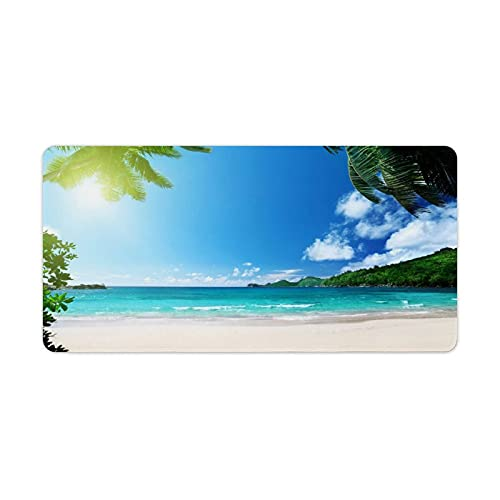 Ocean Series Mouse Pad Pattern Customed Desk Organizer Accessories Mat Pad Large Anime Gaming Cute Mousepad for Wireless Mouse Laptop 30x60cm