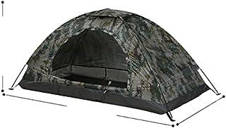 Ultralätt vattentätt campingtält enkelt lager bärbart tält anti-UV beläggning UPF 30+ för utomhus strand fiske fin nätdörr