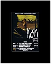 Music Ad World Korn - UK Tour 2010 Mini Poster - 13.5x10cm