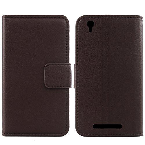 Gukas Design Echt Leder Tasche Für Archos Access 55 3G 5.5