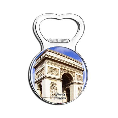 Weekino France Arc de Triomphe Paris Aimant De Réfrigérateur Bière Ouvre-Bouteille Ville Voyage Souvenir Autocollant de réfrigérateur Fort