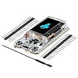 MakerHawk Module ESP32 LoRa SX1276 868 Module Wifi 915MHZ Carte IoT Dual Core 240MHz CP2102 Comsumption Low Power avec écran OLED 0,96 pouces et antenne pour Arduino