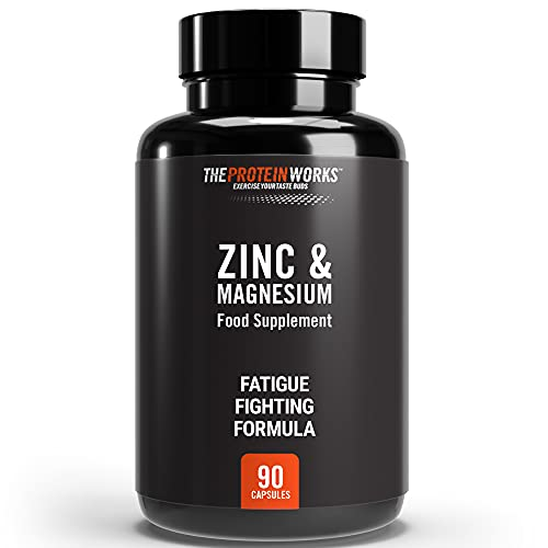 THE PROTEIN WORKS Zinc and Magnesium Tablets | Added Vitamin B6 | Combats...