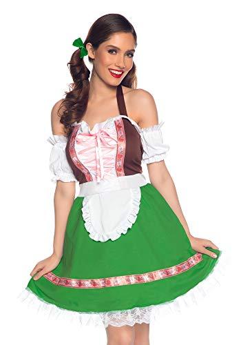 Wonderland Gretchen Disfraces para Adultos, Multicolor, M (EUR 40-42) para Mujer
