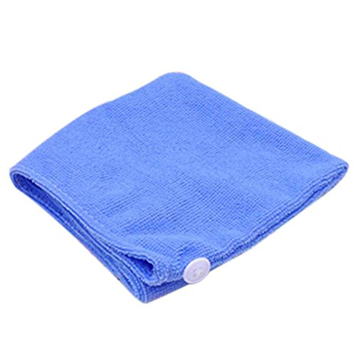 censhaorme Women Bathroom Super Absorbent Quick-Drying Hair Towel Microfiber Hair Dry Cap