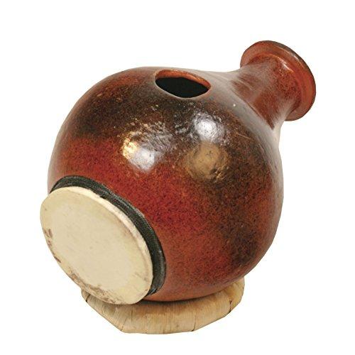 Udu Urdu Tontrommel Flaschenform 30 cm Haut Unterseite Ziegenfell Krug Claydrum Ghatam Percussion Weltmusik