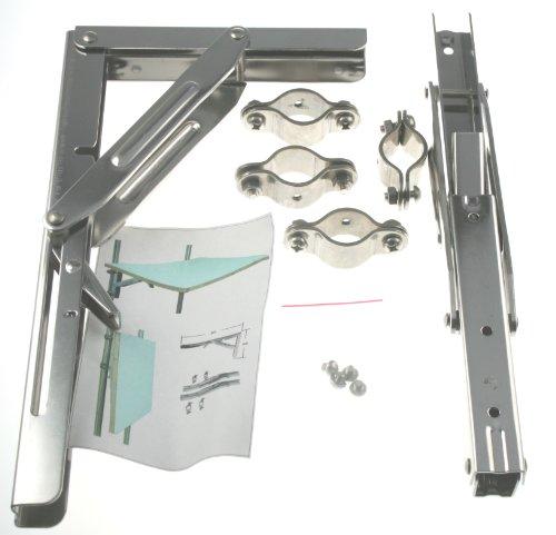 Arbo-Inox Montage-SET für Klapptisch aus Edelstahl