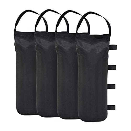 VOXY LBS Extra Large Pop up Canopy Weights Sand Bags for Ez Pop up Canopy Tent Outdoor Instant Canopies 4 Pack
