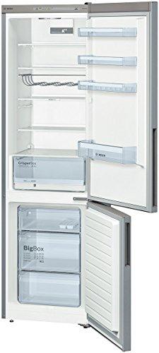 Réfrigérateur combiné Bosch KGV39VL31S - Réfrigérateur congélateur bas - 344 litres -...