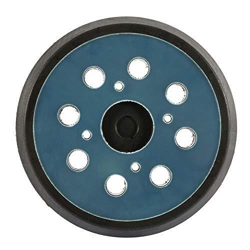 Bandeja de lijado 125 mm 8 agujeros 4 clavos azul negro para...