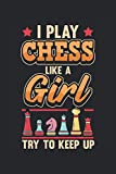 Calendar chess 2021/2022 I play chess like a girl: Annual planner and calendar for 2021 and 2022 from January to December - Organizer and planner for 2 years