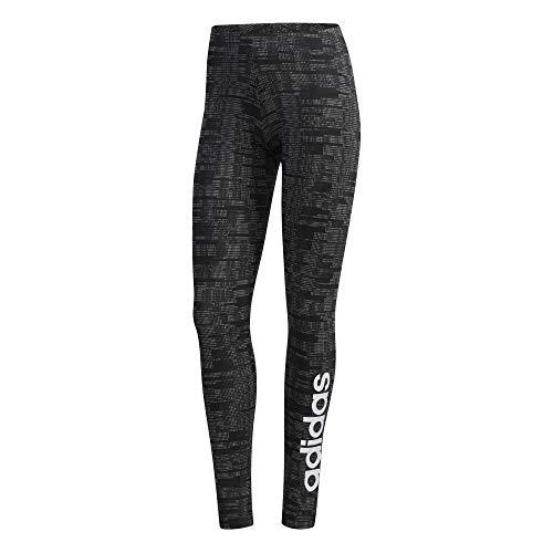 adidas Damen Essentials AOP Tights, Black, XS