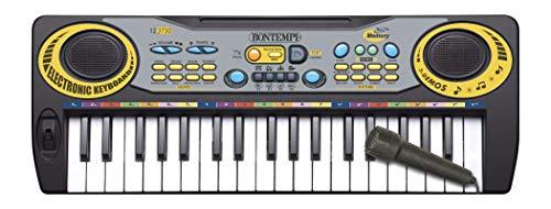 Bontempi-Tastiera Elettronica, 37 Tasti Passo Midi DO, 12 3730