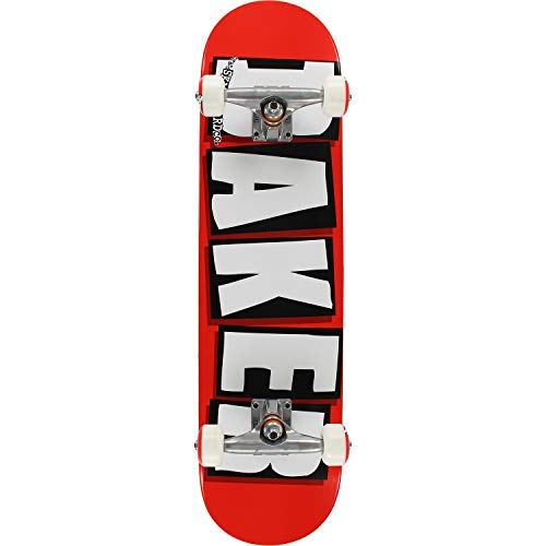 Baker Skateboards Brand Logo Red/White/Black Complete Skateboard - 8' x 32'