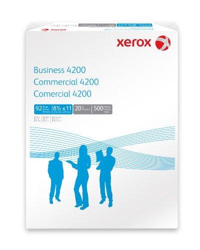 """Multipurpose 4200 Paper, 8-1/2""""x11"""", 3HP, 20 Lb, 500/ PK, WE -  Xerox, 3R2641"""