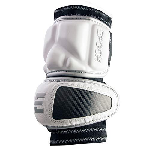 Epoch Lacrosse Integra Elbow Caps for Defensemen White Medium