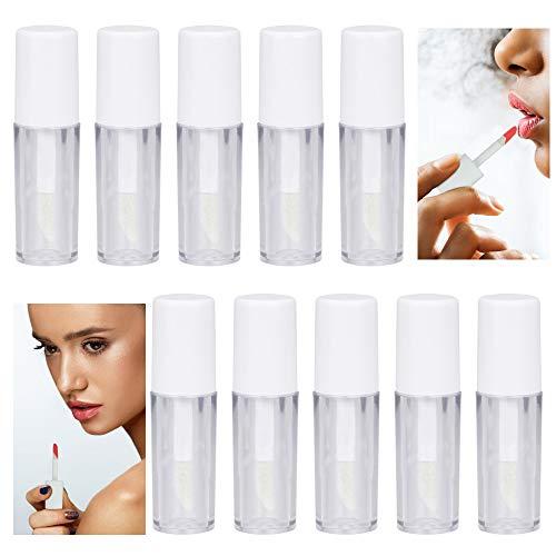 LYTIVAGEN 45 Stück 1,3ml Lippenstift Rohre Leer Lipgloss Flasche Mini Lipgloss Behälter transparent Lippenpflege Tube für Lipgloss, Lippenbalsam