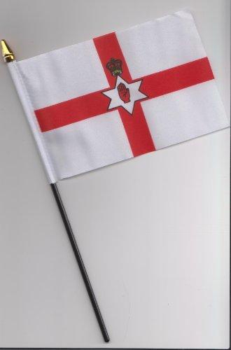 A mano de la bandera de Irlanda del Norte 25 cm