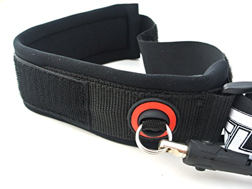 Slyde Handboards SLYDE Bicep Pro Coil Leash for Your Body Surfing Handboard/Handplane with Stainless Steel Swivels, Extra Strength Urethane Cord – Designed for The Toughest Conditions