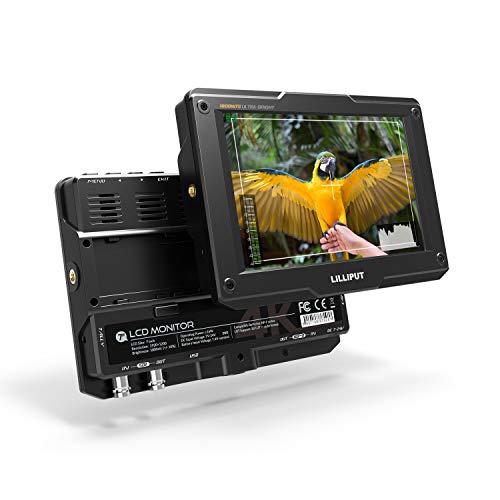 Lilliput H7s 7 pollici 3G-SDI 1800cd/㎡ Sul campo fotocamera Monitor 4K HDMI Uscita ingresso 1920x1200 IPS 3D Lut Top Broadcast Camera SDI Monitor (senza batteria, senza alimentazione)