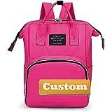ZZMGDAM Personalisierter benutzerdefinierter Name kiddycare Rucksack Neugeborene Baby-Wickelsack für (Color : Pink, Size : One size)