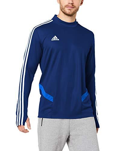 adidas Herren TIRO19 TR TOP Sweatshirt, Dark Blue/Bold Blue/White, 3XL