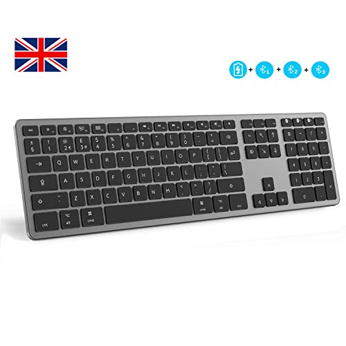 Seenda Mac Keyboard USB QWERTY Inglés Negro teclado