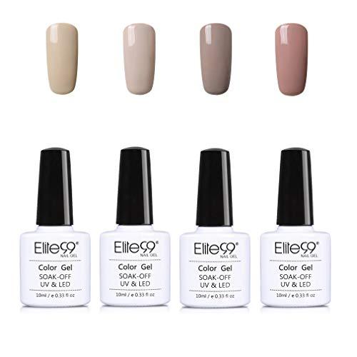 Elite 99 UV Esmalte de uñas gel, colores puros