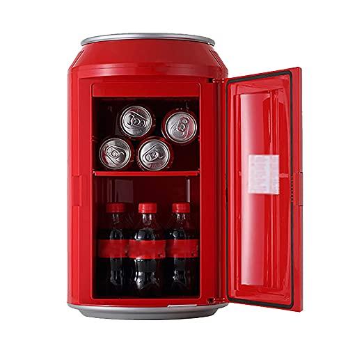 BIIII Mini frigo termoelettrico portatile,10 L capacità frigorifero auto refrigeratore,Raffreddamento rapido frigorifero da viaggio