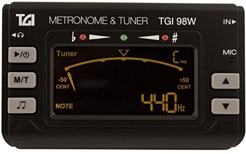 TGI TGI98W ottone e Woodwind-Accordatore con Clip e metronomo