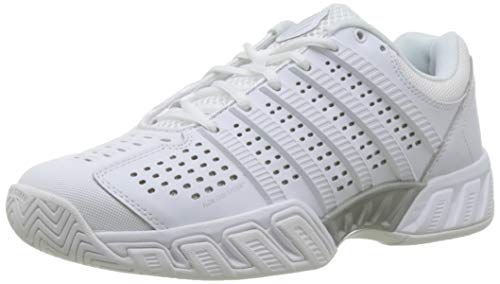 K-Swiss Women's Bigshot Light 2.5 Tennis Shoes (White/White) (10 B(M)...